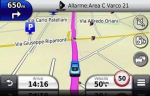 aggiornamento mappe navigatore